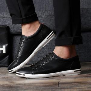 Pánské neformální jednoduché lehké boty v klasickém stylu