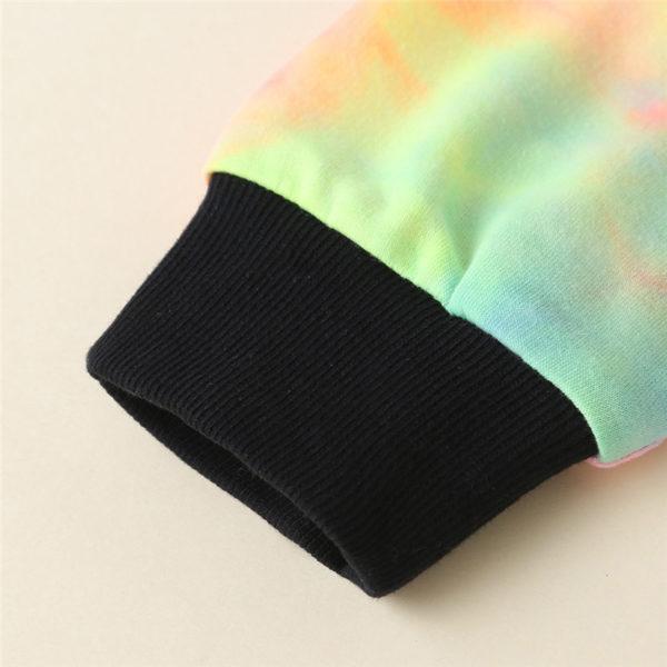 Dívčí barevná tepláková souprava