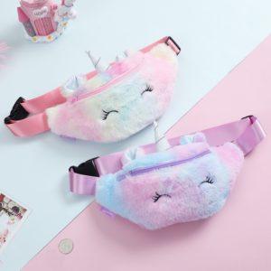 Designová dívčí ledvinka Unicorn