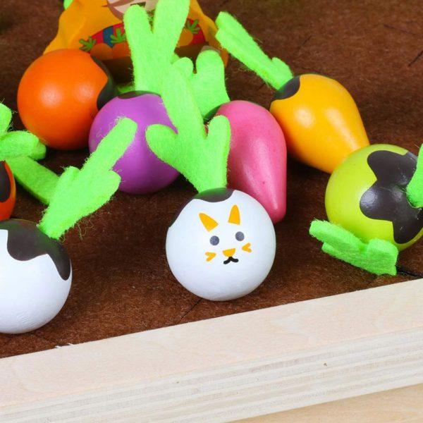 Dětská stolní hra - tahání mrkve