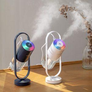 Originální LED aroma difuzér / zvlhčovač vzduchu