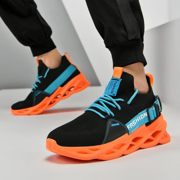 Pánské luxusní sportovní lehké prodyšné boty