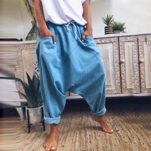 Moderní dámské volné kalhoty Rebeka