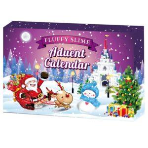 Dětský vánoční adventní kalendář se slizem
