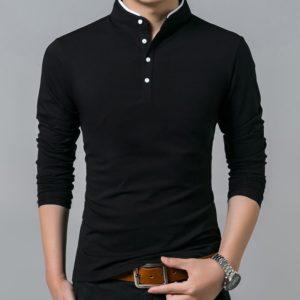 Kvalitní pánské tričko s dlouhým rukávem Lisew