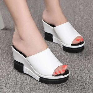Dámské Fashion sandály na vysoké platformě