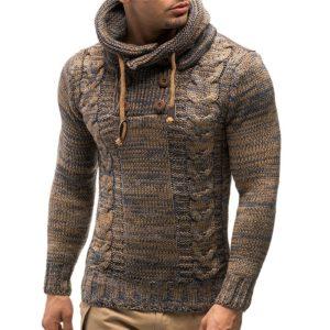 Pánský stylový svetr s kapucí Forest