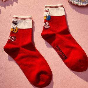 Dámské Hello Kitty ponožky v různých barvách