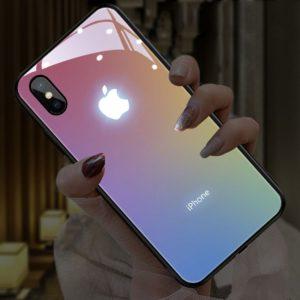 Blikající nárazuvzdorný kryt na Apple iPhone
