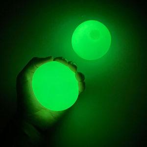 Antistresové svítící kuličky WALLBALL