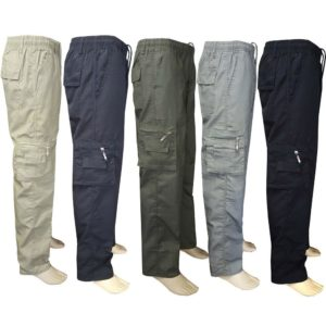 Pánské moderní outdooorové kalhoty Military