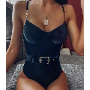 Dámské sexy monikiny s páskem Eileen Morrison