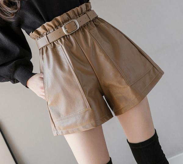 Elegantní dámské šortky s vysokým pasem