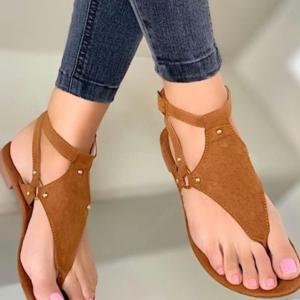 Dámské letní sandály v originálním stylu