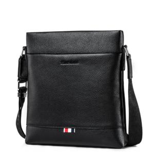 Pánská taška přes rameno z pravé kůže