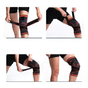 Stahovací bandáž na koleno