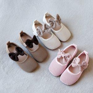 Dívčí letní prodyšné síťkované botičky