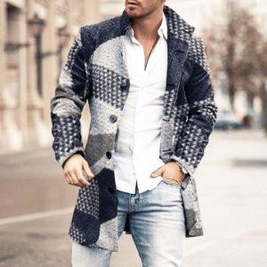 Pánský trendy jarní kabát Michael