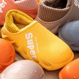 Unisex zimní nepromokavé pantofle