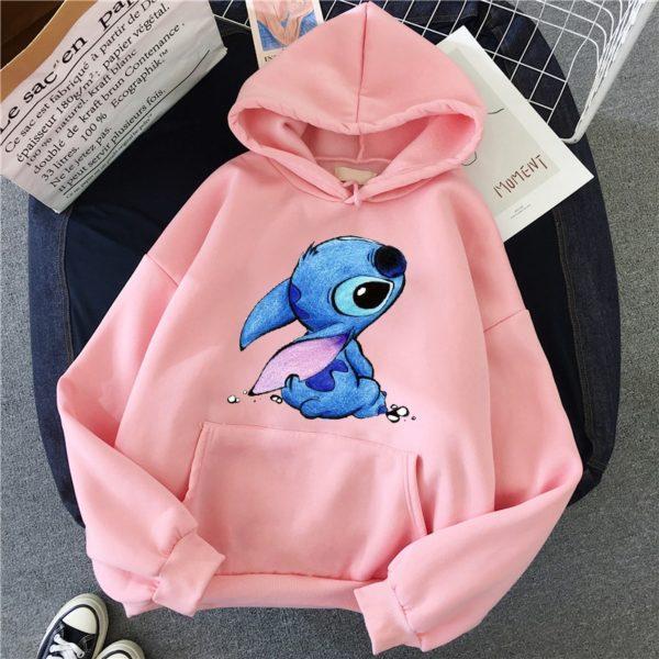 Dámská bavlněná mikina Stitch