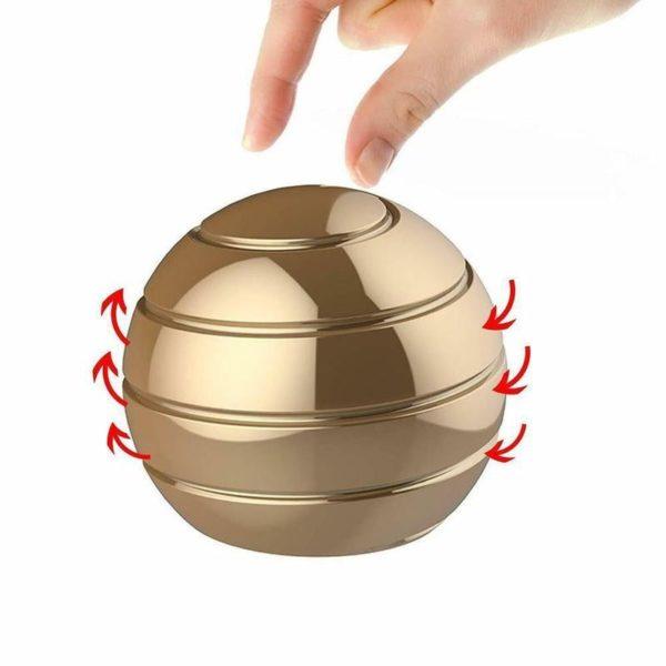 Stolní dekompresní rotující sférický gyroskop