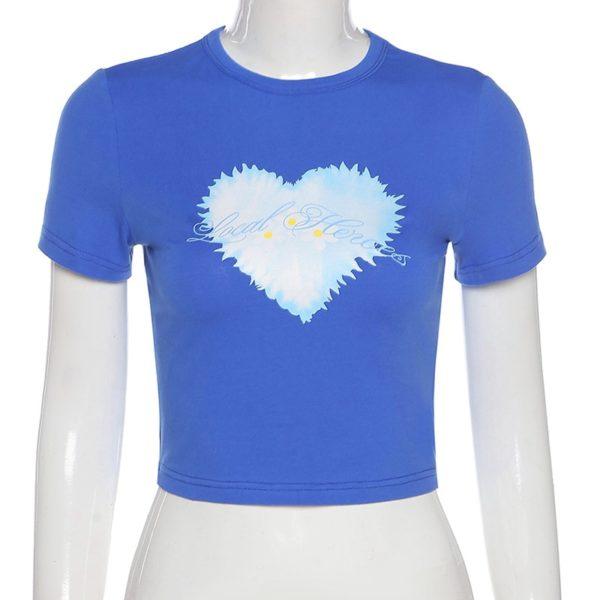 Něžné tričko s krátkým rukávem Lola