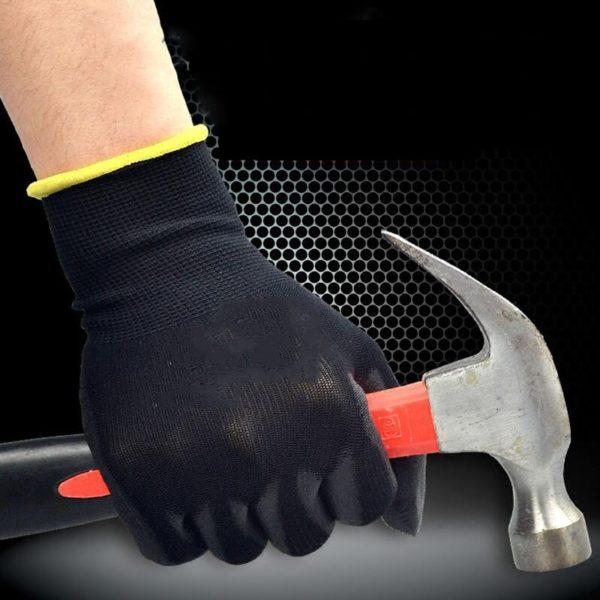 Set látkových pracovních rukavic