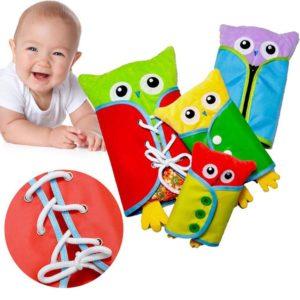 Dětská vzdělávací plyšová hračka