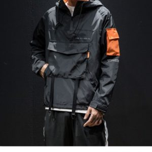 Pánská bunda s přední kapsou