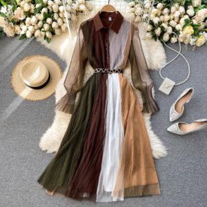 Dámské nádherné šaty Carmen