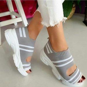 Dámské letní stylové slip on boty Carmen