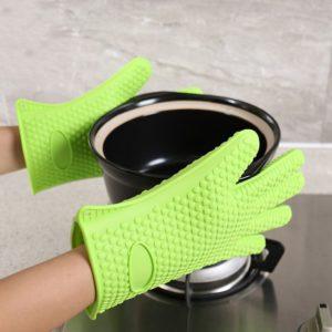 Silikonová grilovací rukavice - různé barvy