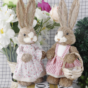 Roztomilý dekorační velikonoční králíčci