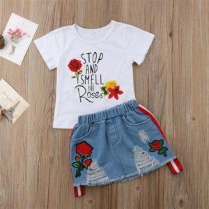 Letní set oblečení pro malé holčičky
