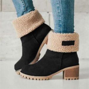 Dámské zimní kožešinové boty Alena