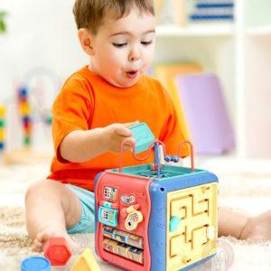 Dětská vzdělávací kostka pro naše nejmenší