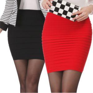 Dámská elegantní elastická sukně