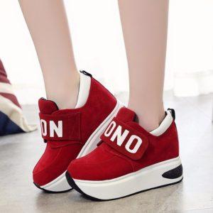 Dámské módní outdoorové boty na platformě