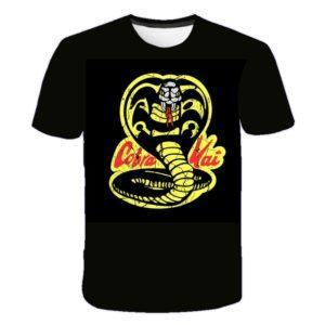 Pánské bavlněné triko s motivem kobry
