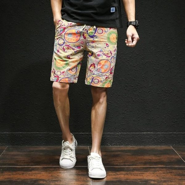 Pánské Casual Streetwearové bavlněné kraťasy