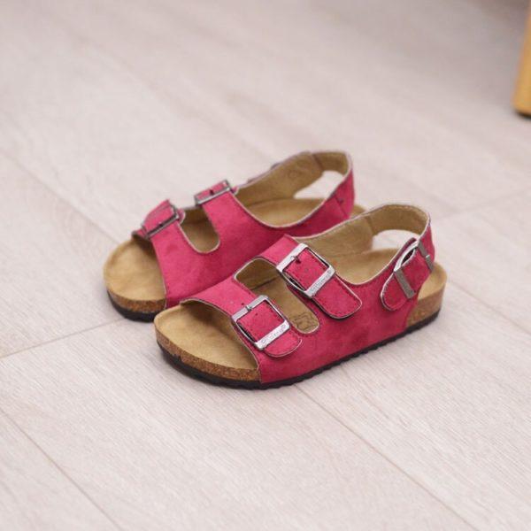 Dětské trendy vintage letní pohodlné sandálky Nayeli