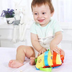 Dětská vzdělávací plyšová tréninková hračka s obličejem