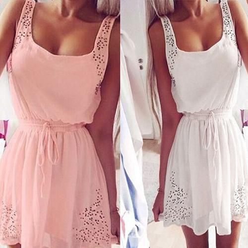 Letní volné šaty pro ženy
