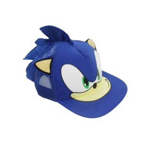 Dětská úžasná čepice Sonic (01)