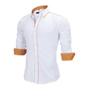 Luxusní pánská košile s dlouhým rukávem Lorenzo
