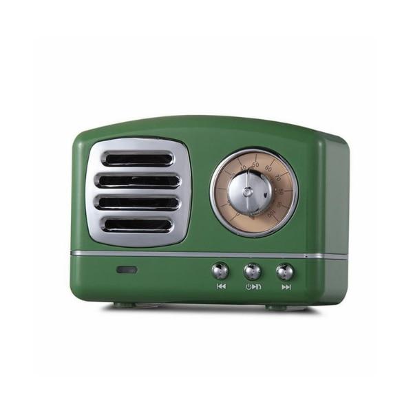 Bezdrátový stylový retro mini reproduktor - více barev