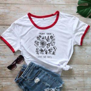 Stylové pohodlné dámské letní tričko Save