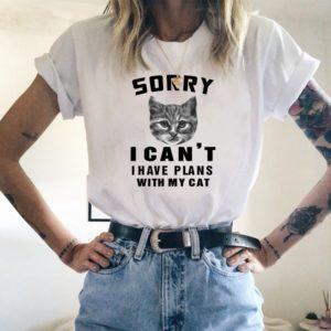 Klasické dámské vtipné tričko Miss Gato