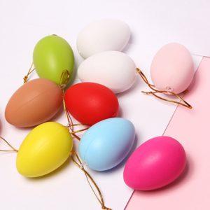 12 ks závěsných velikonočních vajíček