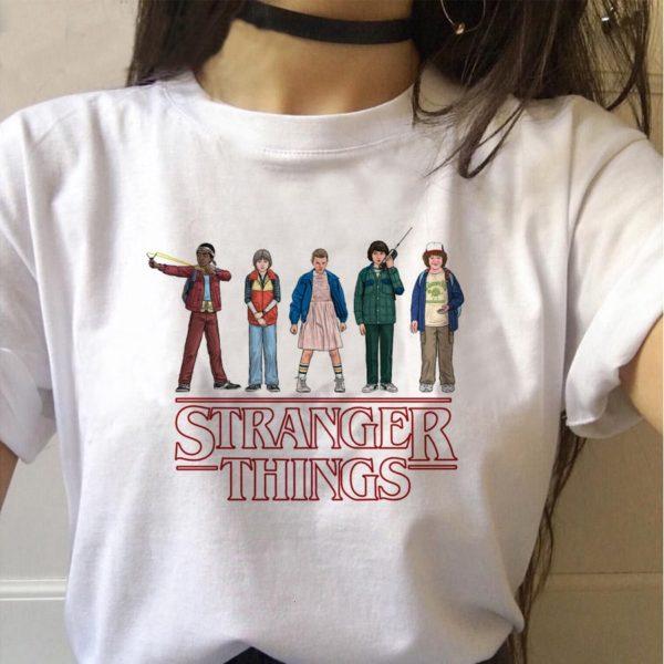 Vtipné dámské tričko Stranger Things